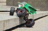 4X4 RCのおもちゃ車1/10th電気RCの岩登り車