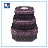Caja de almacenamiento personalizada de ventas calientes con tipo cilíndrico