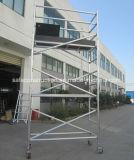 Aluminium sûr d'échafaudage de tour de la CE pour la décoration