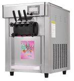 Farbe, die drei Aroma-weichen Eiscreme-Maschinen-Preis anstreicht