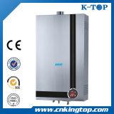 Géiser del gas del panel del recubrimiento, calentador de agua caliente del precio barato