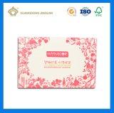 Коробка бумажного роскошного косметического подарка установленная упаковывая (с подносом PVC внутренним)
