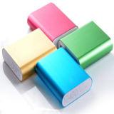 Batería portable 10400mAh de la potencia de los regalos de la insignia de encargo móvil promocional del cargador