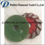 Molhar a almofada de moedura do metal do uso para mmoer a máquina de polonês concreta do assoalho