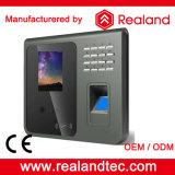 Sistema biometrico di presenza di tempo di fronte dell'impronta digitale 1000 di pollice 5000 di nuovo arrivo di F391 Realand 2.8