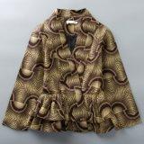Custom Wax Print Fabric Vêtements Africains Veste taille grande taille