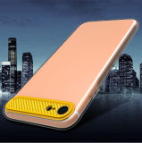 Protection complète en fibre de carbone hybride Soft Clear TPU Case