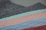 Покрашенная хлопчатобумажной пряжей ткань Crinkle