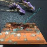 vidrio antiguo anaranjado del espejo del vidrio/arte del espejo de 5m m Hermes con alta calidad