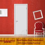 Конструкция двери меламина Гуанчжоу самомоднейшая белая (GSP12-026)