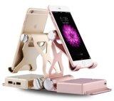 هاتف حامل حامل قفص 3 في 1 [10000مه] قوة بنك [بلوتووث] المتحدث, لون موسيقى لاسلكيّة المتحدث