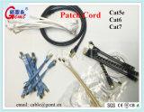 Cat5 Cat5e CAT6猫6A Cat7 RJ45の平らなネットワークケーブルのパッチ・コードケーブル