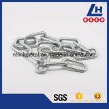 L'elettrotipia della lega G80 galvanizza la catena a maglia di sollevamento