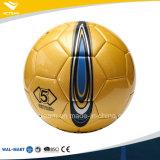 Formato 5 di alta qualità nessuna sfera di calcio laminata punto del cuoio genuino della corrispondenza