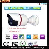2.0 MP 1080P HD de 3,6 mm a prueba de agua Cámara Len IR de seguridad CCTV IP