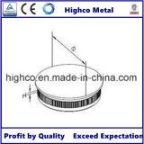Protezione di estremità del corrimano dell'acciaio inossidabile per la balaustra del tubo di 38.1mm