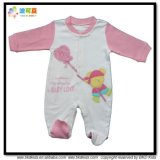 Vêtements pour bébés en taille personnalisée Velour Newborn Baby Rompers