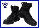 黒い軍の軍隊の戦術的な戦闘の土地の警察は起動する靴(SYSG-125)を