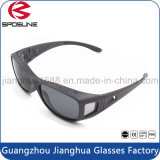 Pesca de óculos de sol de praia Anti-Glare Clip on Outdoor UV400 Protection Sunglasses