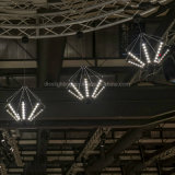 De moderne Creatieve Speciale Gevormde Kroonluchters van de Tak Simpel voor de Lichten van de Restaurants van Villa's Decorete