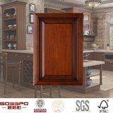 安い純木の食器棚のドア(GSP5-012)