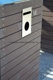 Frontière de sécurité antidérapante extérieure rouge du composé 88 en plastique en bois solide