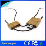 Azionamento di legno della penna del USB di stile della collana del regalo piacevole delle ragazze
