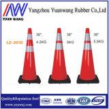 Cono europeo 900mmh del tráfico de camino del PVC del mercado de la fábrica china caliente de la venta