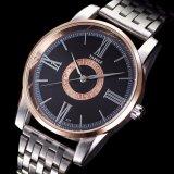 Rückseiten-wasserdichte Mann-Uhr des Edelstahl-377-S mit Mineralglas