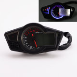 мотоцикл тахометра Mph спидометра одометра 12V 11k Rpm LCD цифров/KPH с Backlight