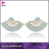 Orecchini del diamante di modo, commercio all'ingrosso d'avanguardia dei monili degli orecchini di Zircon