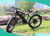 48V 500WのLED表示が付いている脂肪質のタイヤの雪の電気バイク