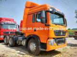Sinotruk T5g 6X4 340HP 트랙터 트럭 6 바퀴 트레일러 트랙터 트럭