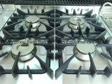 Chaîne de gaz d'acier inoxydable avec 4-Burners et sous le four