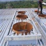 Magazzino prefabbricato della struttura d'acciaio del blocco per grafici portale ben progettato per il Gabon