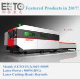 machine de découpage de laser de fibre de 500W Ipg avec le double Tableau