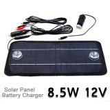 12V 8.5W de Multifunctionele Monocrystalline Cel van de Batterij van de Lader van het Zonnepaneel