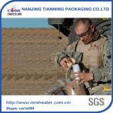 Refeições prontas para comer o calefator para provisões do exército
