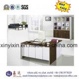 Moderner hölzerner Möbel L-Form leitende Stellung-Schreibtisch (S09#)