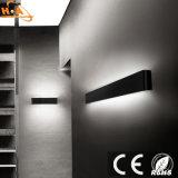 Rectángulo de interior LED de aluminio de la lámpara de pared