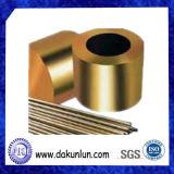 플랜지가 붙은 기름 홈이 있는 금관 악기 투관을 도는 제조 관례 CNC