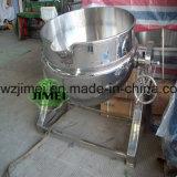 Inclinación de la caldera vestida del vapor de la caldera de la chaqueta de Electrc con el mezclador