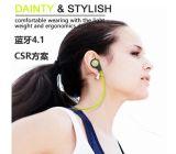 Écouteur sans fil stéréo de Bluetooth V4.1