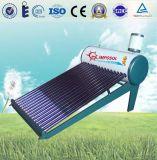 Aquecedores de água solares de aço galvanizado de aço inoxidável de baixa pressão