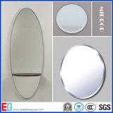 猫が付いている銀製ミラーまたはアルミニウムミラーか銅の銀の自由鋳造ミラーまたは着色されたミラーまたは浴室ミラーまたは安全ミラーはIIまたはPEのフィルムによって和らげられるミラーまたはミラーを構成する