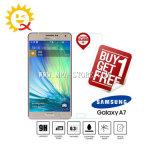 Écran en verre Tempered de la pleine couverture A7 pour Samsung