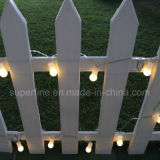Outdoor Waterproof Home Décoration décontractée Deco LED String Lights avec ampoule ronde