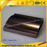 Perfil brillante modificado para requisitos particulares fabricante de aluminio del polaco del aluminio