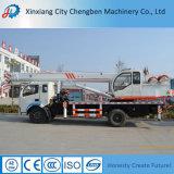 Mini camion hydraulique chaud de grue de 6 tonnes de la Chine à vendre