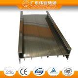 Profil en aluminium de porte d'extrusion